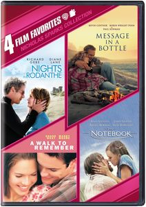 4 Film Favorites: Nicholas Sparks Collection