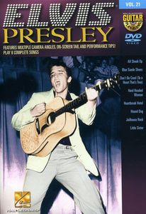 Guitar Play Along: Elvis Presley, Vol. 21