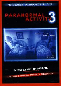 Paranormal Activity 3 [DVD/ Blu-ray/ Digital Copy] [WS] [Rated/ Unrated]