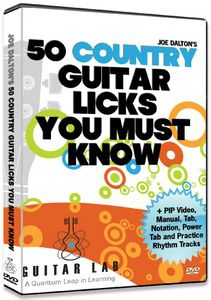 50 Country Licks You Must Know!