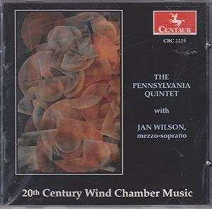 20th Century Wind Chamber Music