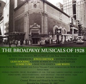 Broadway Musicals of 1928 (Original Soundtrack)