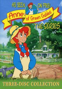 Anne of Green Gables: The Animated Series: Volumes 1-3 (Three-Disc Collection)