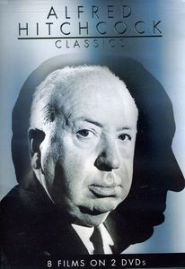Alfred Hitchcock Classics, Vol. 1 [Full Frame] [Slimline]