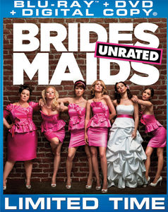 Bridesmaids [WS] [Unrated/ Rated] [Slipsleeve] [Blu-ray/ DVD/ Digital Copy Combo] [2 Discs] [Special Edition]