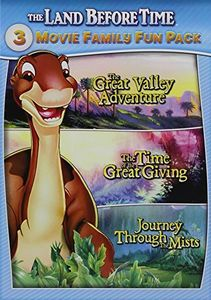 The Land Before Time: 3 Movie Family Fun Pack: Great Valley Adventure/  Time Of The Great Giving /  Journey Through The Mists