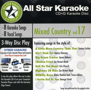 Karaoke: Mixed Country, Vol. 17