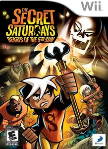 Secret Saturdays: Beast of the 5th Sun for Nintendo Wii
