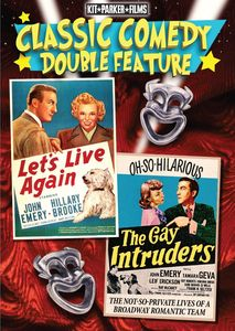 Let's Live Again /  The Gay Intruders (Classic Comedy Double Feature)