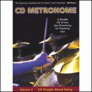 CD Metronome 2: 3/ 4 Straight Ahead Swing