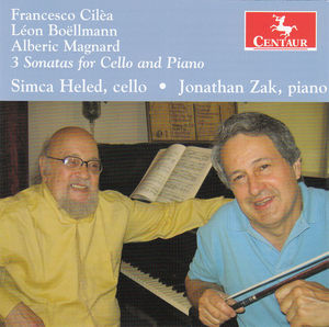 3 Sonatas for Cello & Piano