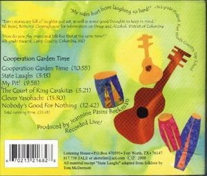 Cooperation Garden Time: Stories & Songs for Kids