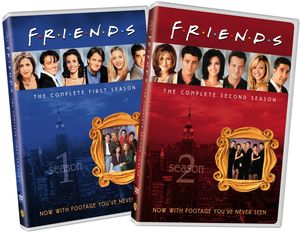 Friends: The Complete First and Second Seasons [BTB] [Gift Set]
