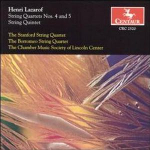 String Quartet 4 & 5 /  String Quintet