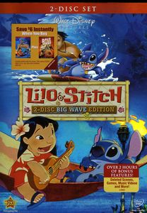 Lilo and Stitch [Big Wave Edition] [2 Discs] [WS] [Foil Embossed O-Sl eve]