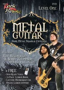 Metal Guitar: Dark Metal Triads and Chugging Level 1
