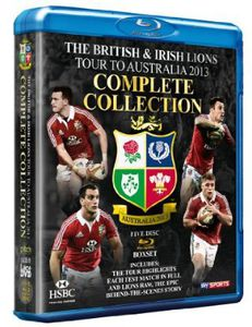 British & Irish Lions 2013-The Complete Collection