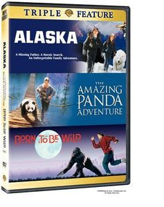 Born To Be Wild/ Alaska/ The Amazing Panda Adventure [2 Discs] [Triple Feature] [Double Amaray Case]