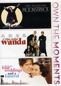 4 Weddings and A Funeral/ A Fish Called Wanda/ Moonstruck