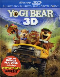 Yogi Bear [2011] [WS] [3D Blu-ray/ 2D Blu-ray/ DVD/ Digital Copy Combo] [O-Sleeve]
