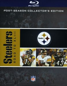NFL Road To Super Bowl XLIII: Pittsburgh Steelers [4 Discs] [WS]