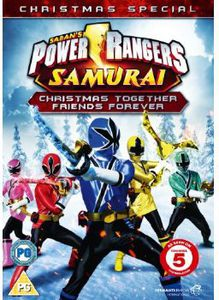 Power Rangers Samurai-Christmas Together Friends F