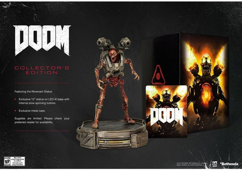 Doom - Collector's Edition for PlayStation 4