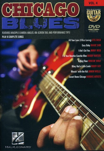 Guitar Play Along: Chicago Blues, Vol. 4 [Instructional]