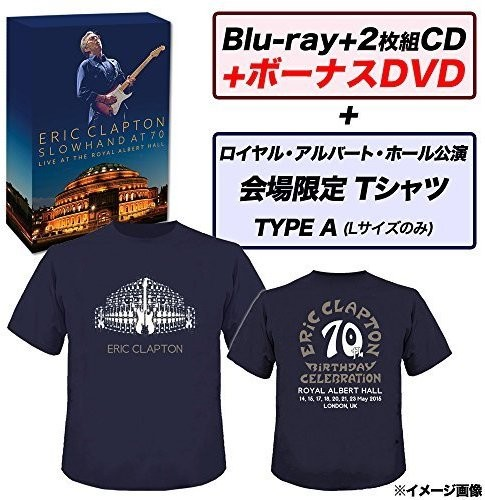 Slowhand at 70: Live at Royal Albert Hall: Deluxe [Import]