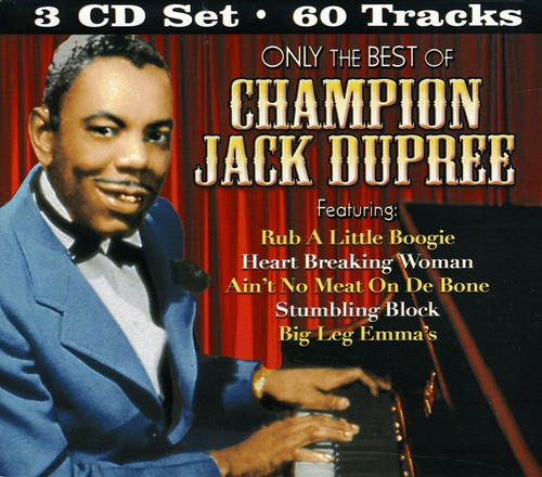 Only The Best Of Champion Jack Dupree [Box Set]