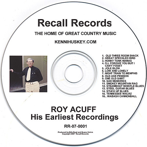 His Earliest Recordings