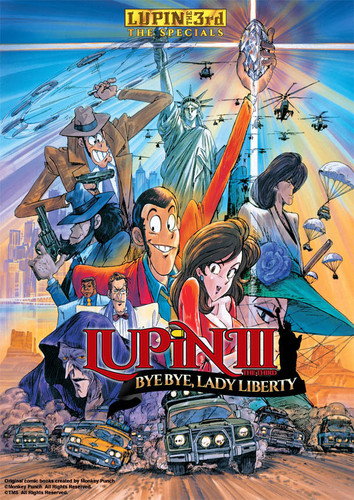 Lupin the 3rd: Bye Bye Lady Liberty