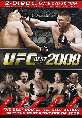 UFC: Best Of 2008 [WS] [Amaray]