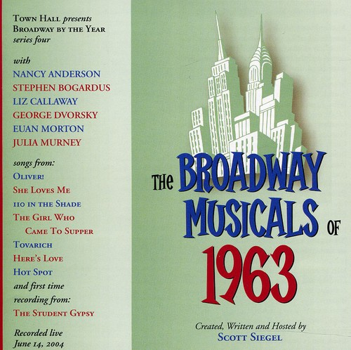 Broadway Musicals Of 1963