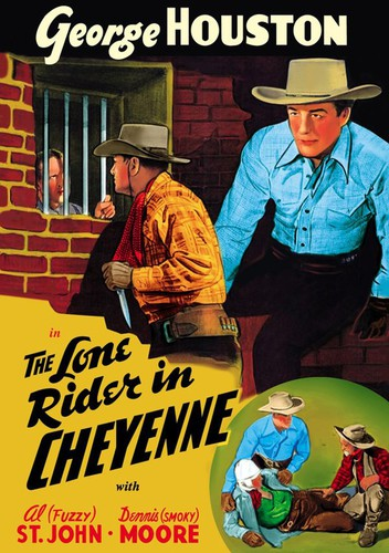The Lone Rider in Cheyenne