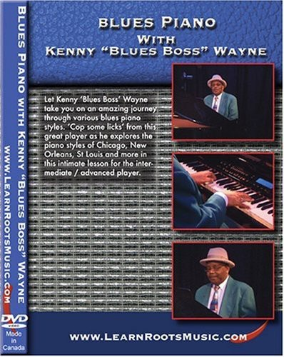 Blues Piano with Kenny Blues Boss Wayne