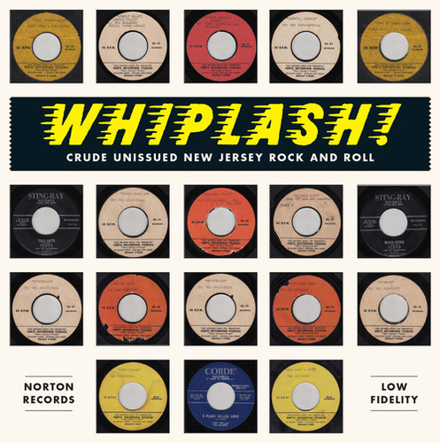Whiplash-crude Unissued New Jersey Rock & /  Var