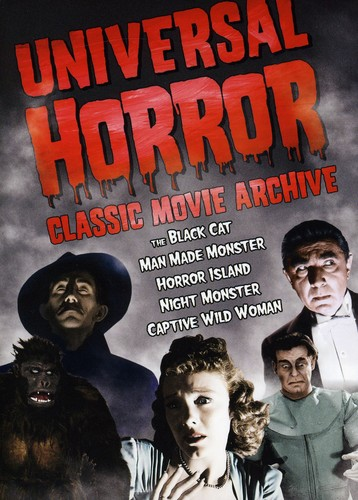 Universal Horror: Classic Movie Archive [Full Frame] [$5 Halloween Candy Cash Offer]