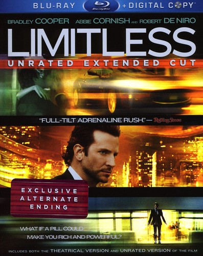 Limitless [Widescreen] [Unrated Extended Cut] [Digital Copy] [2 Discs]