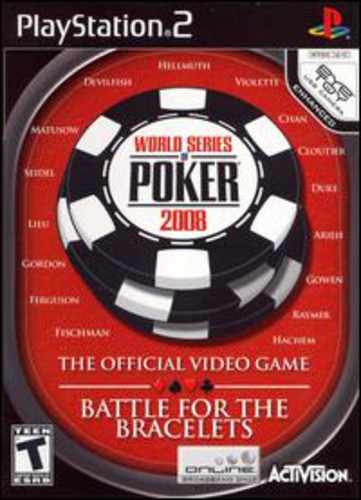 World Series of Poker 2008 for PlayStation 2