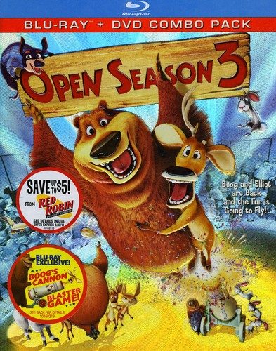 Open Season 3 [Widescreen] [Blu-ray/ DVD Combo] [2 Discs]