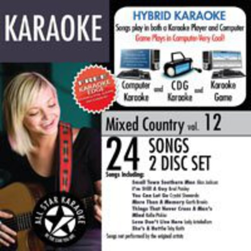 Mixed Country with Karaoke Edge 12 /  Various