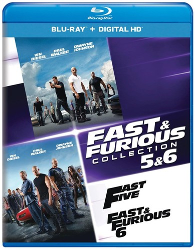 Fast And Furious Collection: 5 And 6