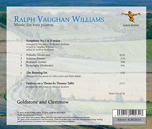 Ralph Vaughan Williams: Music for Two Pianos
