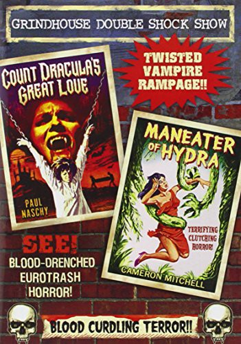 Grindhouse Double Feature: Count Draculas Great Love/ Maneater Of Hydra