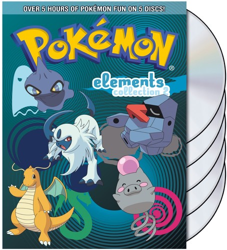 Pokemon Elements: Collection Part 2 [5 Discs] [Gift Box]