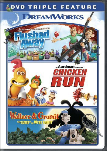 Flushed Away/ Chicken Run/ Wallace and Gromit Triple Feature