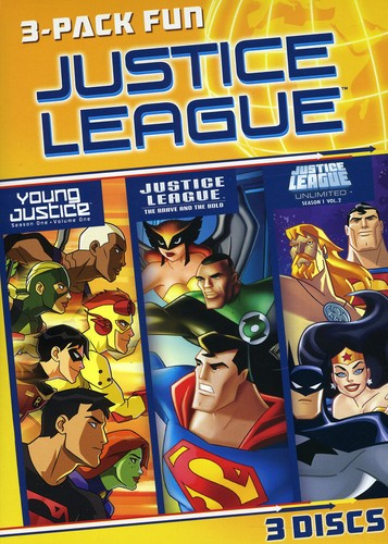 Justice League 3-Pack Fun [Widescreen] [Slipcase]