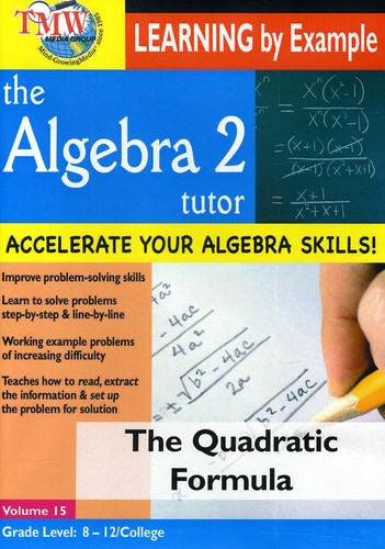 The Quadratic Formula