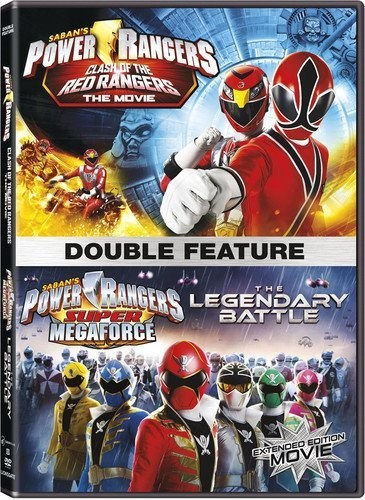 PR DF: Clash Of The Red Rangers Movie/ The Legendary Battle